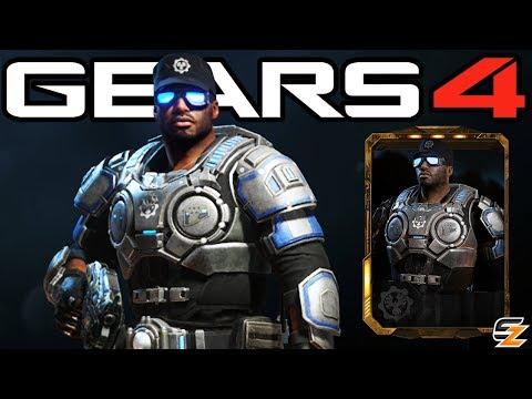 "Gears of War 4 - ""Lieutenant Del Walker"" Character Multiplayer Gameplay! (COG Officer DLC)"