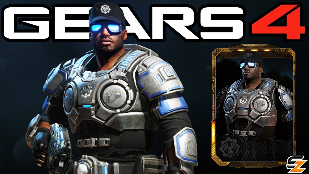 Gears Of War 4 Lieutenant Del Walker Character