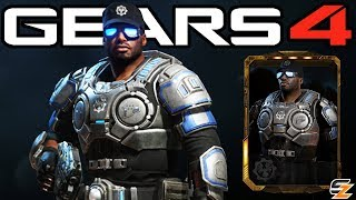 "Gears of War 4 - ""Lieutenant Del Walker"" Character Multiplayer Gameplay! (COG Officer DLC)"