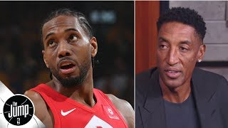 Raptors title favorites if Kawhi returns? 'I don't see it,' Scottie Pippen says | The Jump