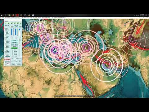 1/01/2019 -- Multiple Earthquake forecast location hits -- Pacific large quake possible M8.0?
