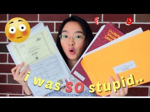 REVEALING My High School Report Card! GPA, ALL Scores || Nilai SMA Ku..