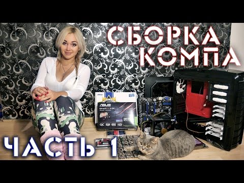 видео: Сборка компьютера своими руками! ч.1