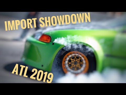 2019 Import showdown Silver Dollar Speedway.