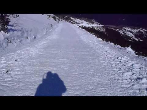 Skiing Mt. Washington Auto Road