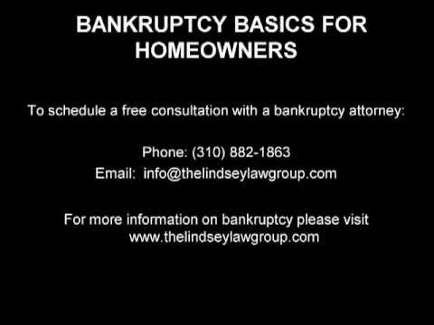 bankruptcy basics for homeowners