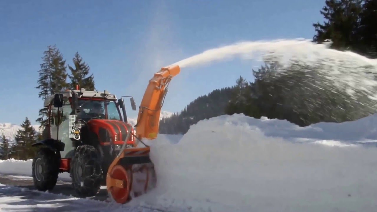 Tractor Mounted Snow Blowers Westa Demo 2016 Youtube