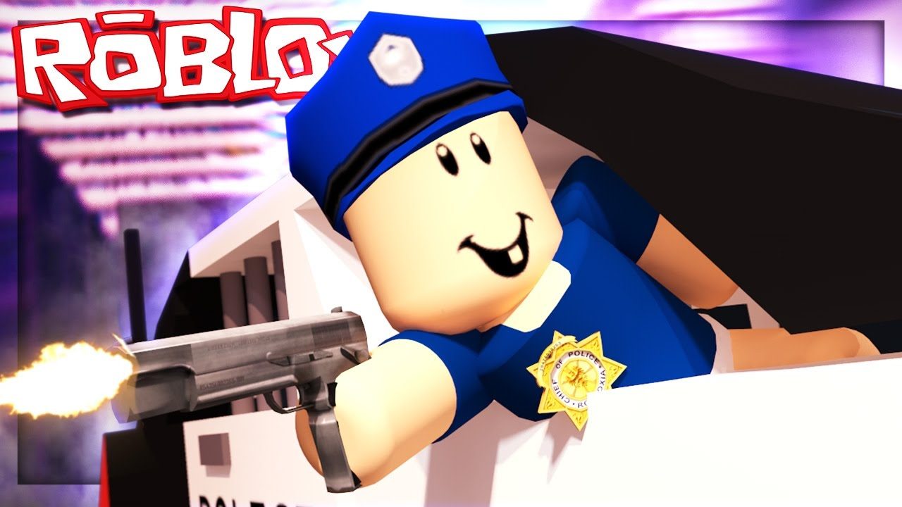 Baby Joins The Roblox Police Force Youtube