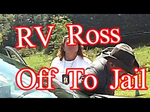 Ross Gets Arrested For Trespassing