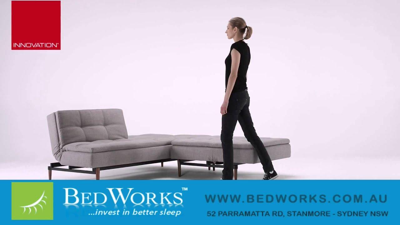 Dublexo Deluxe Sofa Bed Innovation Living Youtube