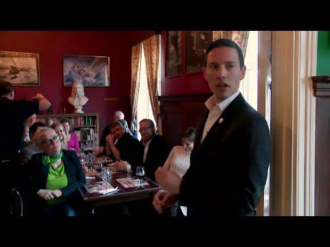 Ett av alla nya partier möts på pubar: Medborgelig samling - Nyheterna (TV4)