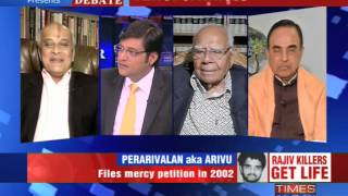 The Newshour Debate: Rajiv Gandhi killers get life - Part 1 (18th Feb 2014)