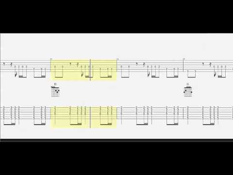Guitar Tab   Guitar Duet   Chords   Downtown   How To Play