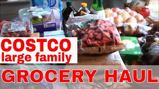 Costco GROCERY HAUL for September