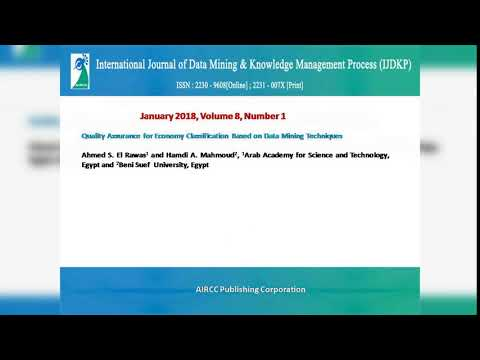 International Journal of Data Mining & Knowledge Management Process ( IJDKP )