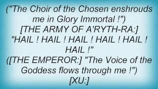 Sacred Steel - The Oath Of Blood Lyrics