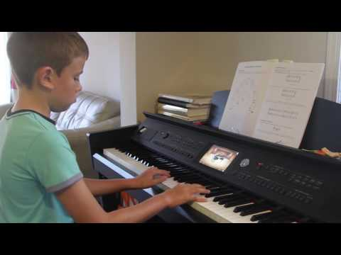 Foggy day blues (Mike Springer) piano