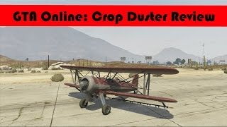 GTA Online | Crop Duster Review (HD)