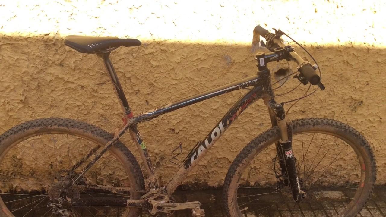 28d2cf017 Dando uma lavagem só por fora da minha nova bike (Caloi vitus) - YouTube