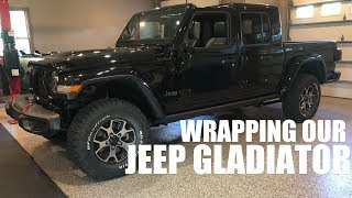 We are WRAPPING our Jeep GLADIATOR JT!