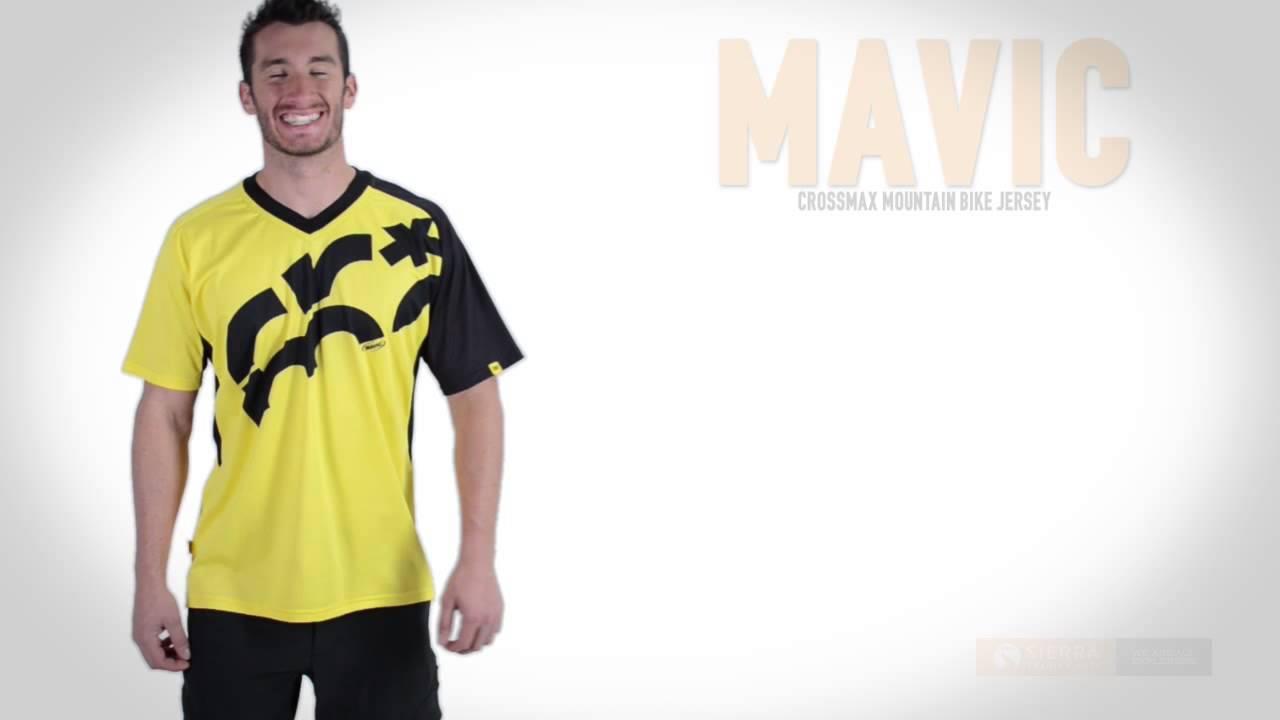 142b83d3f Mavic Crossmax Mountain Bike Jersey - Short Sleeve (For Men) - YouTube
