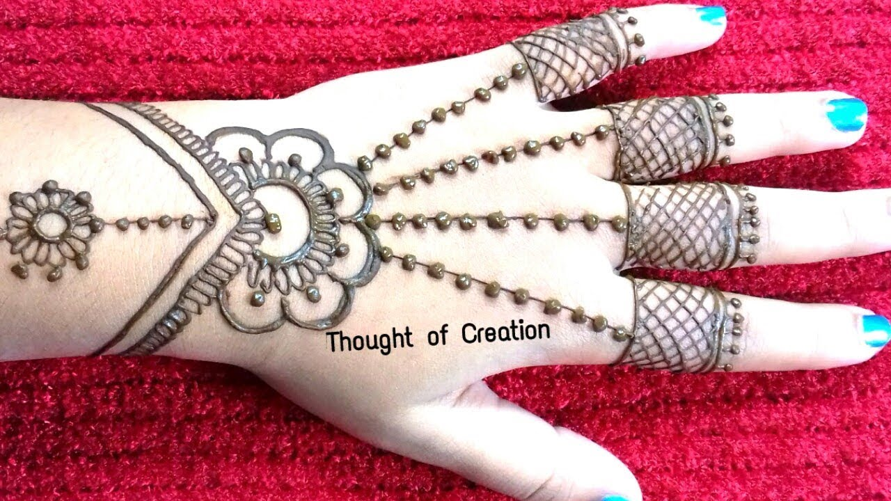 Mehndi Designs For Kids Easy Mehndi Designs For Kids Youtube