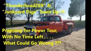 """Rare 66 Buick Cold Start & """"Dialing In"""" the 77 f100 Tune: TH289 & Junkyard Digs - Power Tour"""