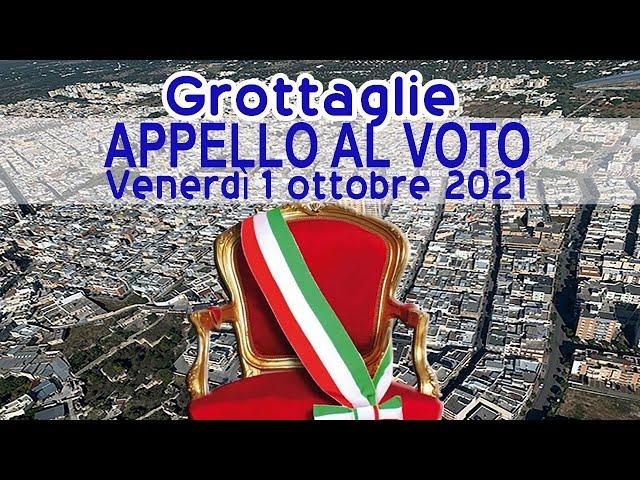 Elezioni Amministrative 3 e 4 ottobre a Grottaglie. Appello al voto dei 4 candidati Sindaci