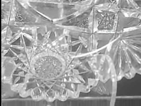 75 12 American Brilliant Cut Glass Covered Cheese Dish
