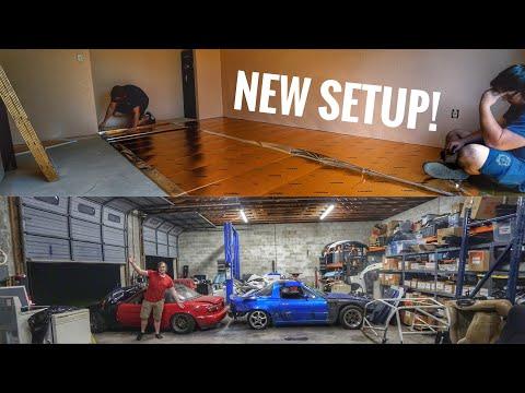 New House! Renovations and Shop Setup!