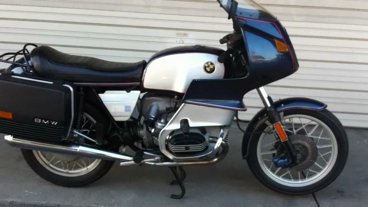 1980 bmw r100rs 2 youtube. Black Bedroom Furniture Sets. Home Design Ideas