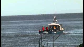 Lady Gwen II Fishing Boat in Conwy .mp4