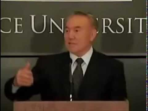 Nursultan Nazarbayev explains why Kazakh women are so beautiful