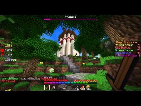 【Minecraft】#1 AcrobatでNexusを効率よく叩く【Annihilation】