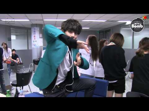 [BANGTAN BOMB] Let's learn point dance with V