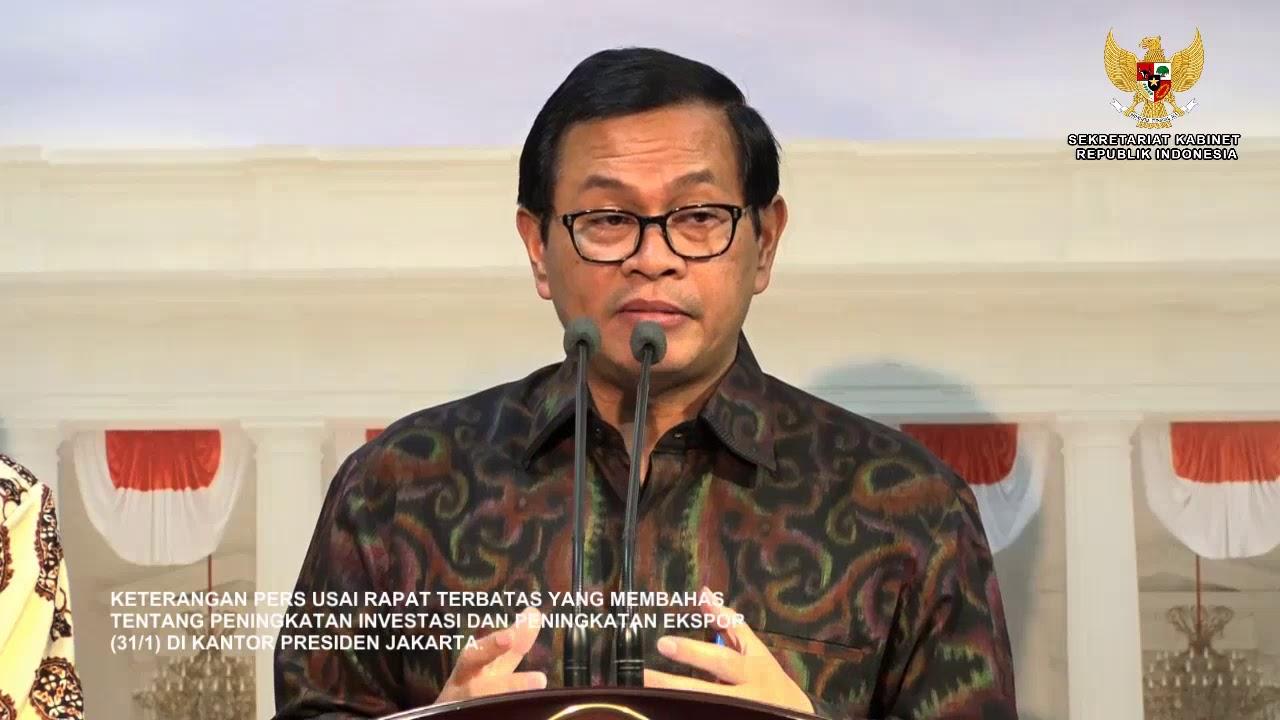 Hasil gambar untuk Presiden Perintahkan Menteri Sederhanakan Aturan Investasi dan Ekspor