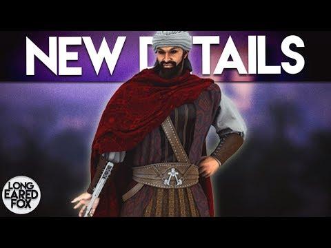 Assassin's Creed Origins | NEW DETAILS - DARIUS Playable, BOSS Battles & NEW Gameplay!