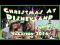 Christmas at Disneyland; Day 4- Characters, Trader Sam's, and Christmas Adventures