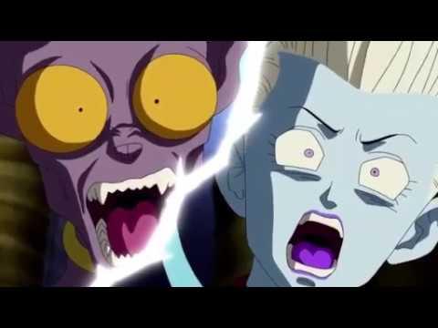 La reaction de Beerus quand il a vu Zeno Sama, Dragon Ball Super, VOSTFR