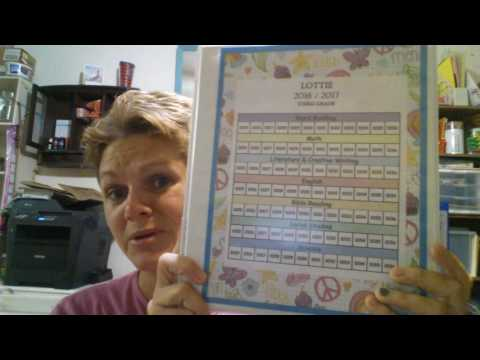 Homeschool 2016-2017 week 1 - getting started with A.C.E. Curriculum