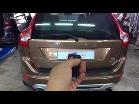 Volvo XC60👉2011 Installed Electronic Tailgate Lift,Vaccum Lock N Foot Sensor