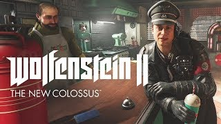 『Wolfenstein II: The New Colossus』 1961年のアメリカ。ナチス親衛隊...