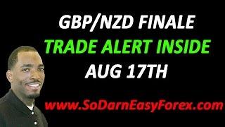 GBPNZD Trade Finale FREE Signal Inside - So Darn Easy Forex