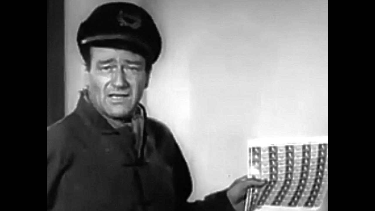 Christmas Seals With John Wayne 1955 TV Commercial HD - YouTube