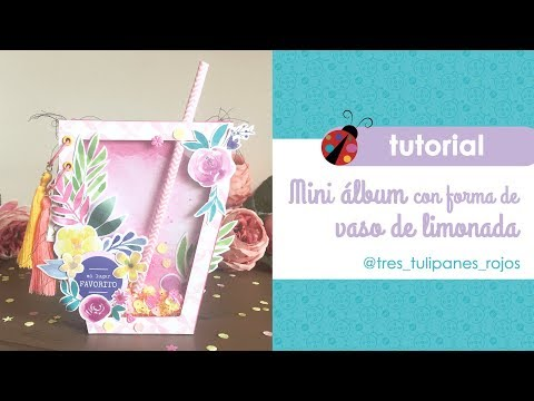 Mini álbum con Pink Lemonade de Sweet Möma
