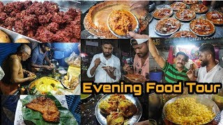 Exploring Evening Street Food  Jeypore Street Tour  Odisha Food Vlog  Best Chat Center  n Odisha
