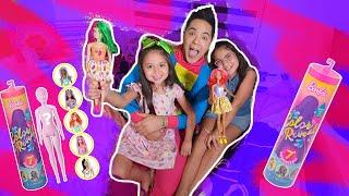Abriendo Barbie Sorpresa / Kids Play