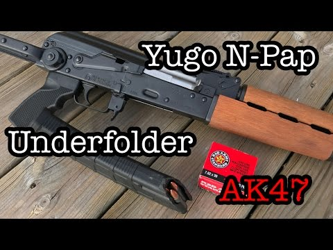 Yugo N-Pap Underfolder AK47 from Century Arms