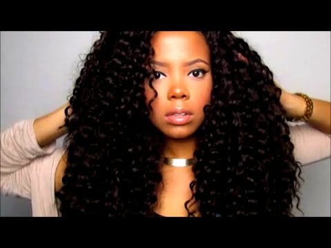 Freetress Crochet Hair Youtube : How To Easy Crochet Braid Nighttime Routine ! (Freetress Deep Twist ...