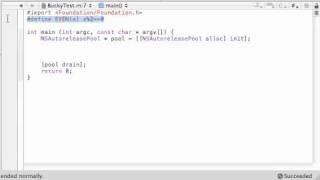 Objective C Programming Tutorial - 50 - #import Statement